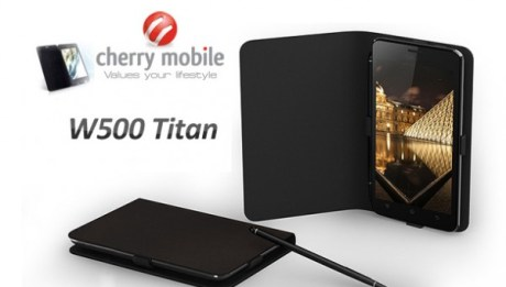 Cherry Mobile Titan with Flip Cover
