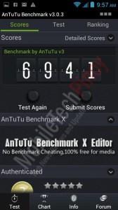 Cherry Mobile Blaze Antutu Benchmark results