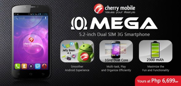 Cherry Mobile Omega Official Promo Graphic