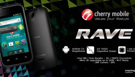 Cherry Mobile Rave promo graphic