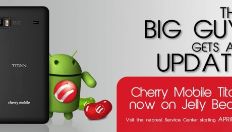 Cherry Mobile Titan Jelly Bean Update