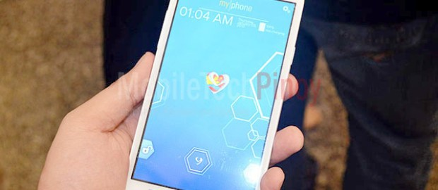 MyPhone Iceberg Lockscreen