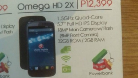 Cherry Mobile Omega HD 2X Leaked Flyer Featured