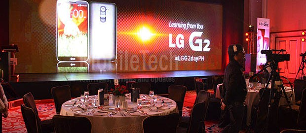 LG G2 Grand Solaire Launch