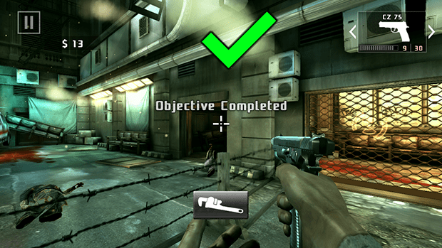Cherry Mobile Flare HD Dead Trigger 2 Screenshot Combat