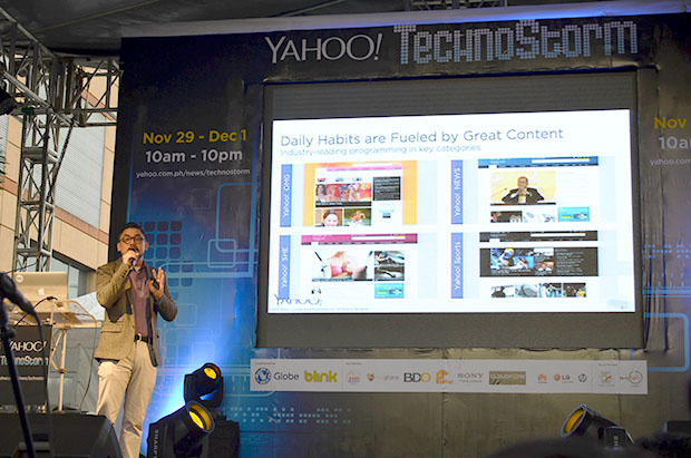 Mike Constantino Country Sales Director Yahoo Philippines