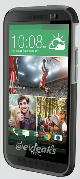 HTC One+ with Protective Case