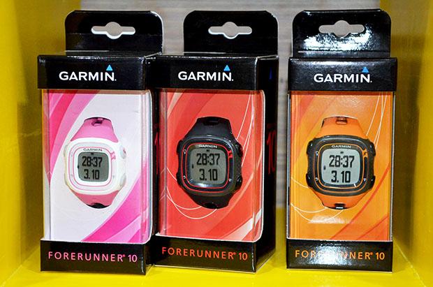 Garmin Forerunner 10 smart watches