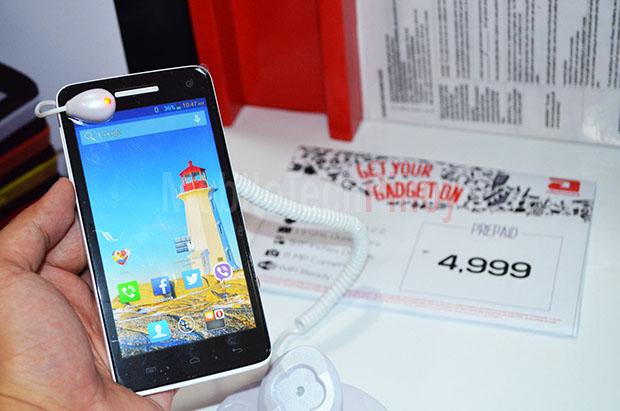 MyPhone Rio Screen
