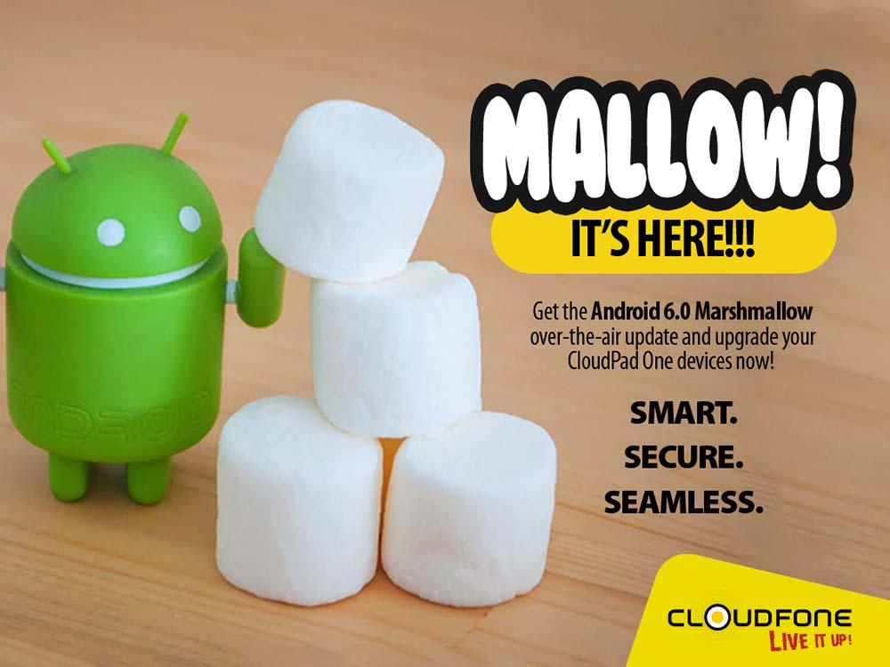 Cloudfone Cloudpad One Marshmallow 6