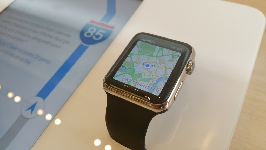 Experiencing the Apple Watch at retail
