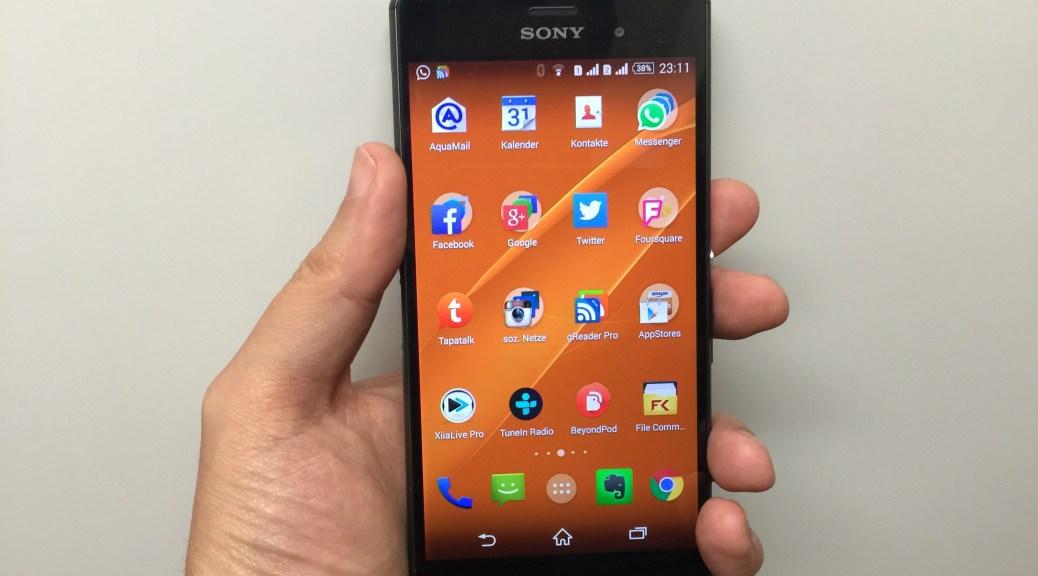 Sony Xperia Z3 Dual-SIM