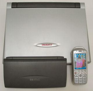 HP320LX with Compaq Aero 8000