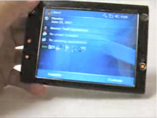 HTC Advantage Pocket PC Phone Edition video