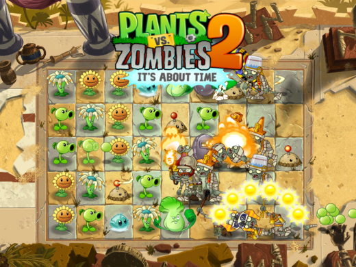 Plants vs. Zombies 2 for iOS.