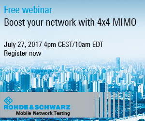 Boost your network with 4x4 MIMO (Rohde&Schwarz)