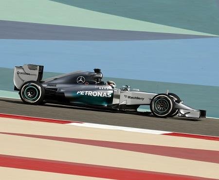 Mercedes AMG Petronas 15 BB