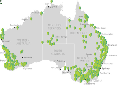 Telstra to add 429 towers in remote locations