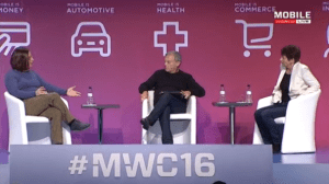 MWC16 Keynote Panel Mobile is Commerce