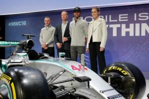 Qualcomm Lewis Hamilton