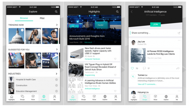 Microsoft news app gets a chatbot - Mobile World Live