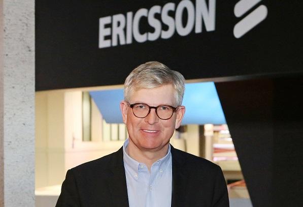borje ekholm CEO Ericsson