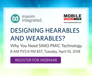 Designing Hearables and Wearables? Innovate with SIMO PMIC Technology