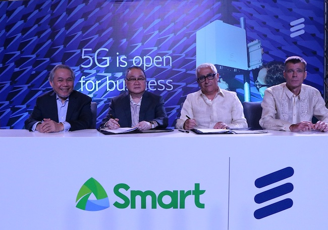 Smart taps Ericsson for trial 5G network - Mobile World Live