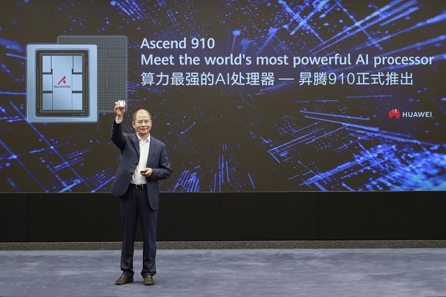 Huawei pushes AI innovation with Ascend 910 release