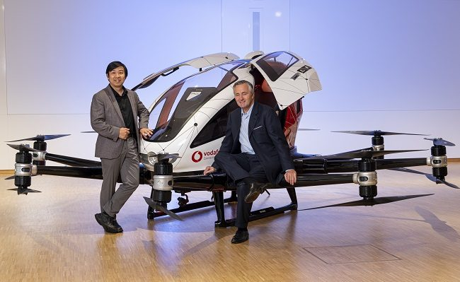 Vodafone looks to the sky with flying taxi partnership