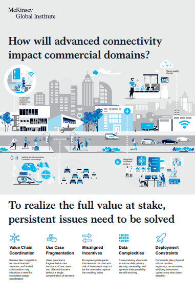 Infographic: How will advanced connectivity impact commercial domains?