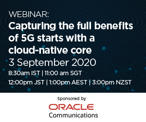 Capturing the full benefits of 5G starts with a cloud-native core Webinar