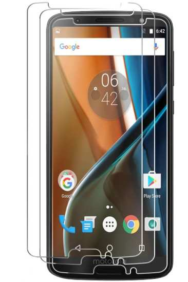 IQ Shield Tempered Glass Screen Protector Moto G6