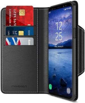 Maxboost Galaxy S9 Plus Premium Wallet Case