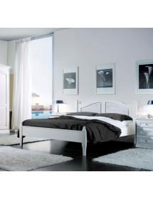 Visualizza altre idee su arredamento, camere da letto shabby chic, idee per la stanza da letto. Mobili 2g Letto Matrimoniale Shabby Chic Bianco Legno Massello Mo