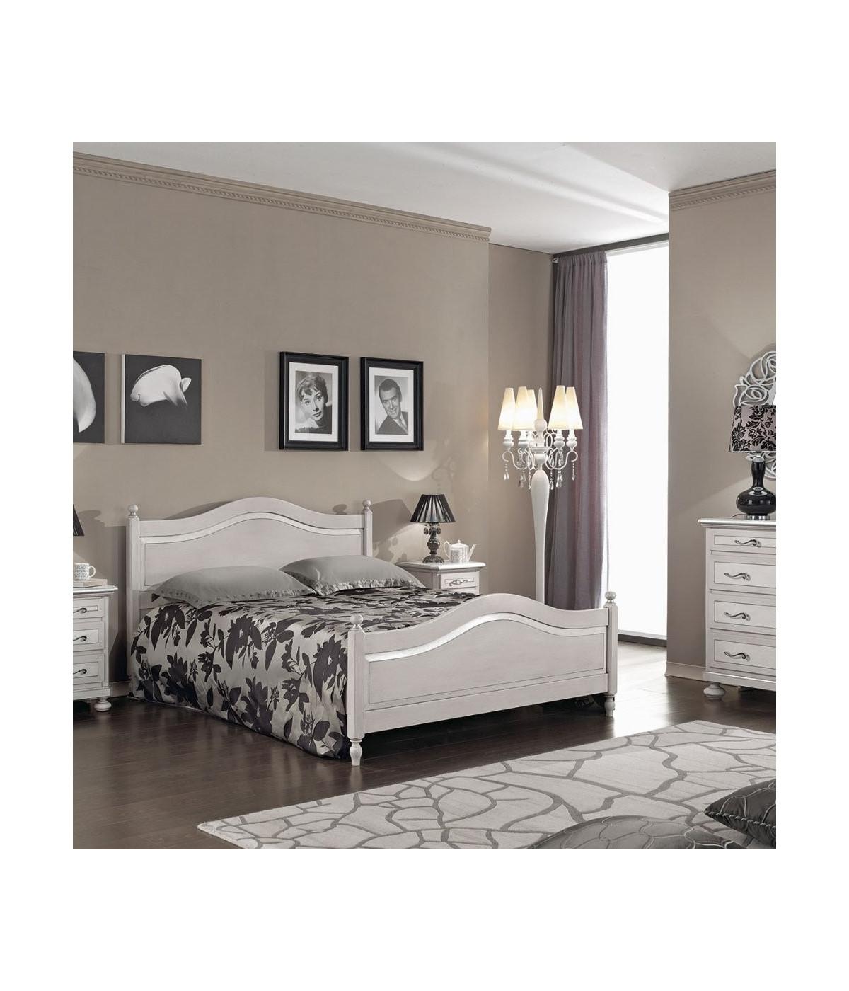 Camera da letto con pareti color grigio tortora esempio di camera da letto con pareti color tortora. Mobili 2g Letto Matrimoniale Shabby Tortora Grigio In Legno