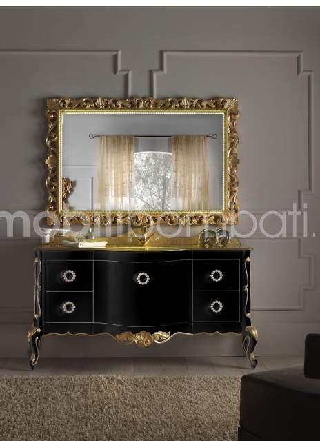 Visualizza altre idee su barocco moderno arredamento arredamento casa. Mobile Bagno Barocco Moderno In Legno Massello Mobilibombati It