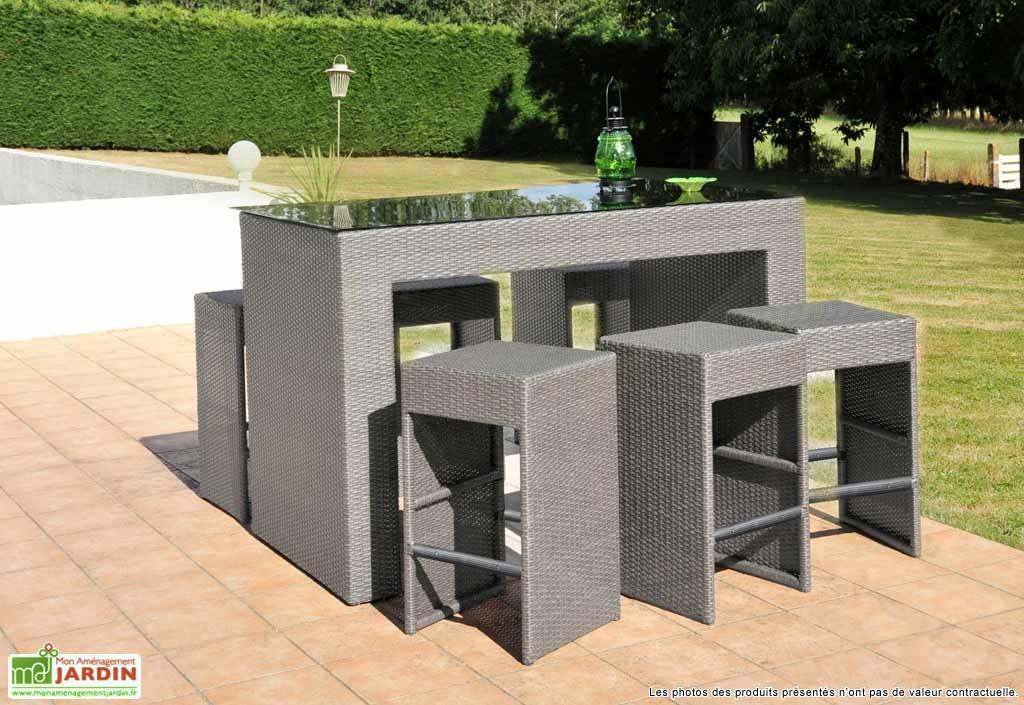 Table De Bar De Jardin