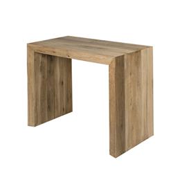 Table Console Extensible Ikea Noir