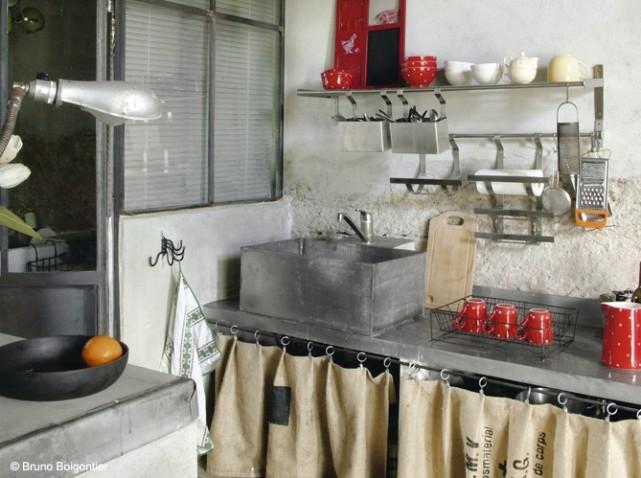 Buffet De Cuisine Style Campagne