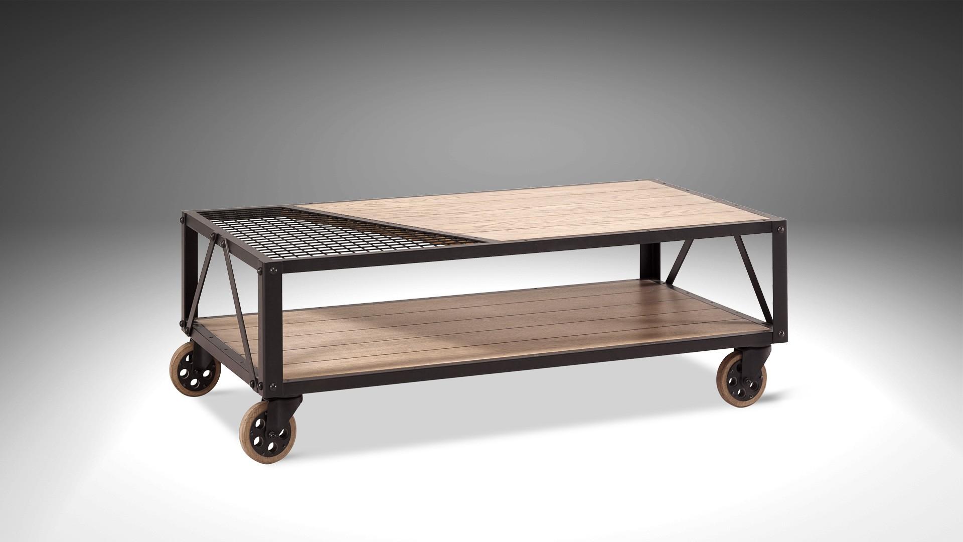 table basse roulettes atelier donnez