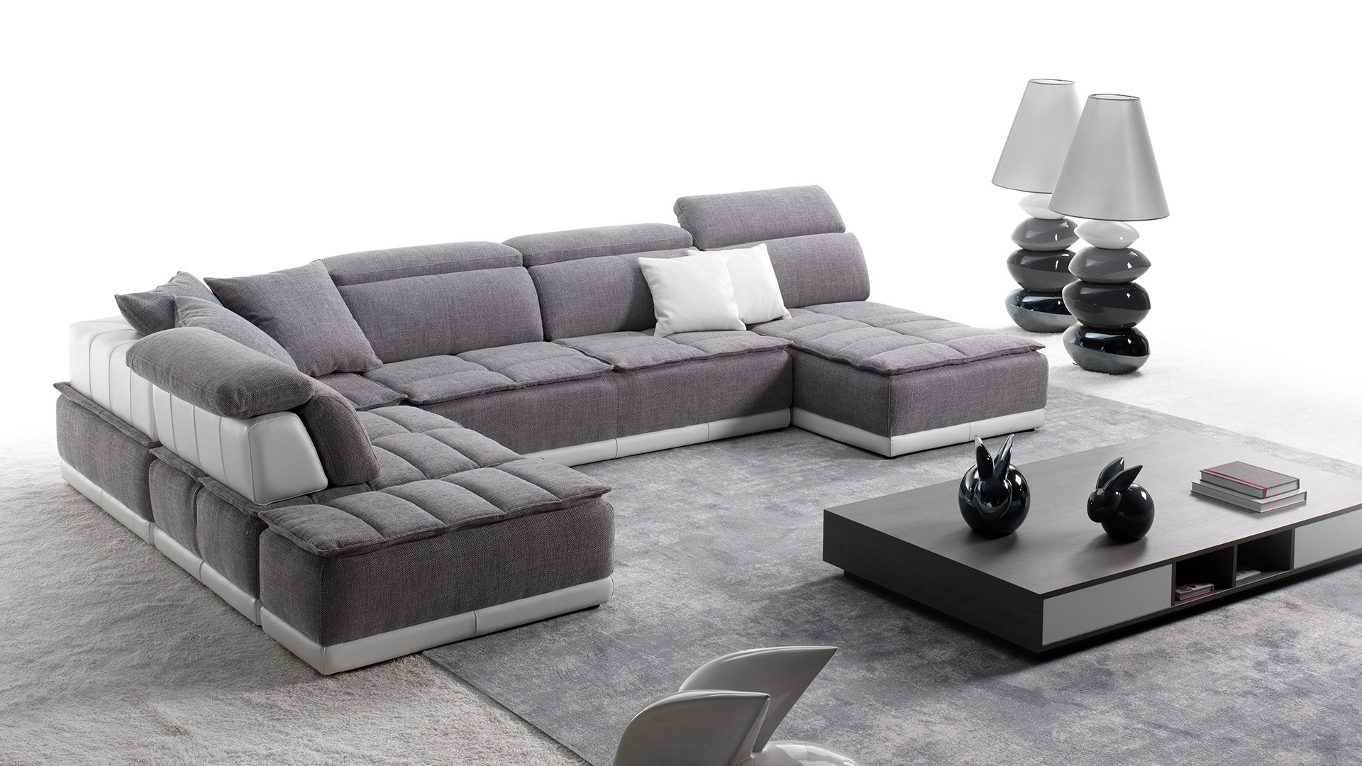 canape d angle meridienne grand large