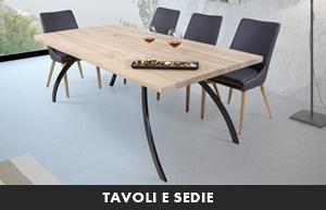 Living moderno abitare giovane tavoli e sedie for Abitare mobili palermo