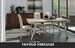 LIVING MODERNO TARGET POINT TAVOLI DA SALA TAVOLO HERCULES ...