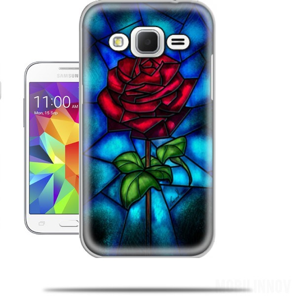 Eternal Rose Samsung Galaxy Core Prime Case Wallet Case