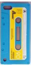 B BLUE 3D CASSETTE IPOD 5-6 cover