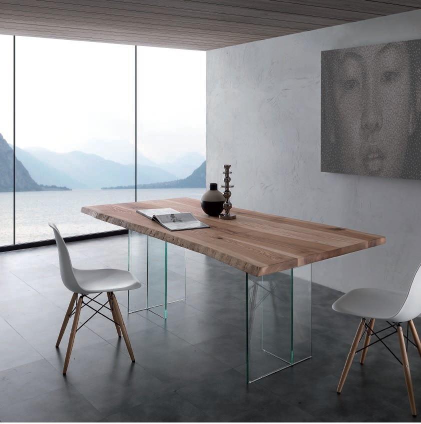 Cucina chateau d'ax + elettrodomestici tavolo. Tavolo L 200 X 100 Cm Art Bio Glass