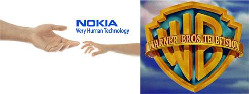 Nokia in conflict cu Warner