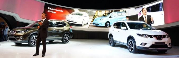 Les Crossovers Nissan présents au salon de Genève 2014