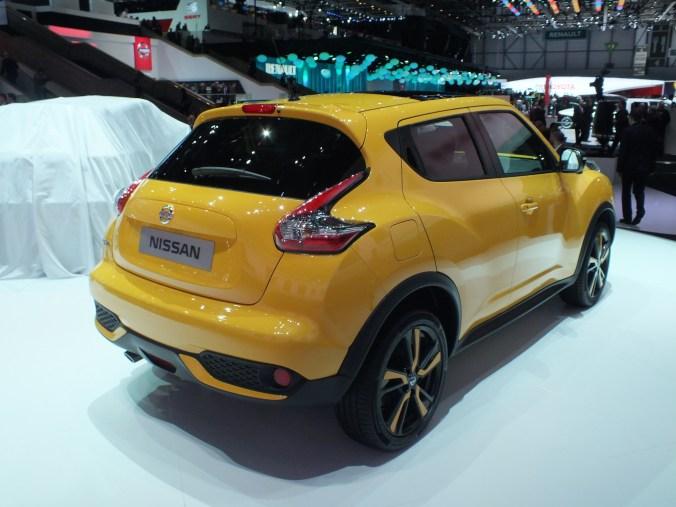 Nissan JUKE jaune 2014